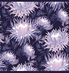 floral seamless color pattern vector image