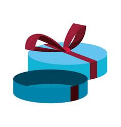 gift box celebration vector image