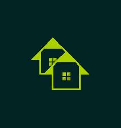 Residential housing business logo design vector