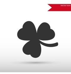 Shamrock Icon Clover icon vector