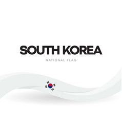 south korea national symbol and independence day vector image