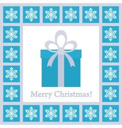 christmas card 4 vector image vector image