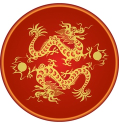 Dragon chinese goroscop vector