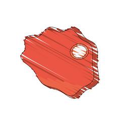 drawing beef food image vector image