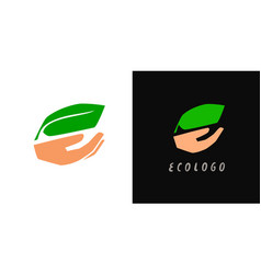 green environment related icon eco friendly flat vector image