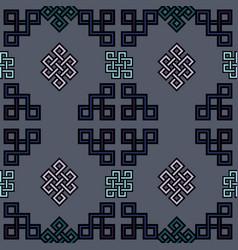 mongolian traditional vector image