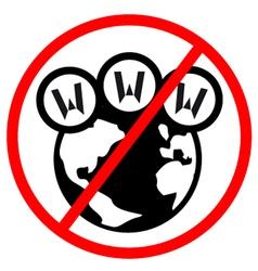 No internet sign vector image vector image