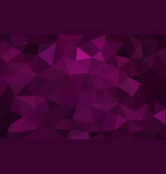 purple low poly background abstract crystal vector image