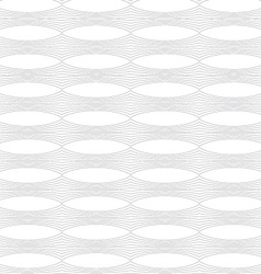 Repeating ornament horizontal line with ovals vector
