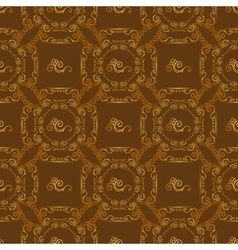 Seamless textures with floral ornament vector image
