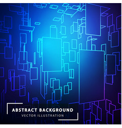 Technology abstract background futuristic vector