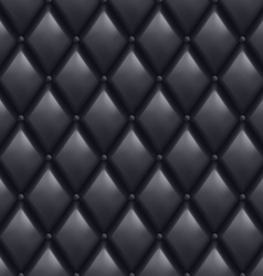 Black Leather Background vector image vector image
