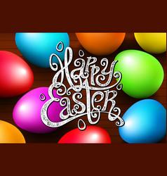 card for congratulations hand written phrase vector image vector image