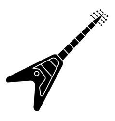 guitar electric - electricguitar icon vector image