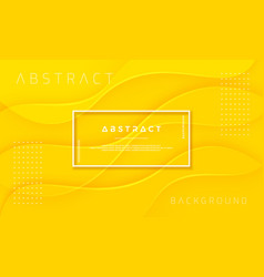 abstract dynamic and textured yellow background vector image