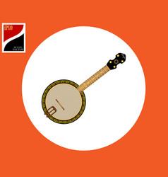 Banjo american tool vector