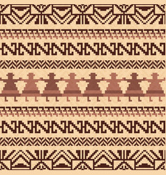 Ethnic textile pattern vector