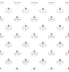 raspberry pattern seamless vector image