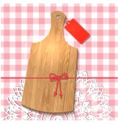 wooden utensil14 vector image vector image