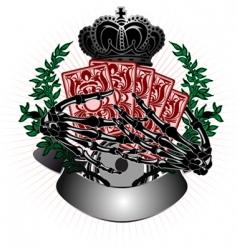 gambling illustration vector image