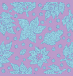 vegetable seamless pattern decorative vector image