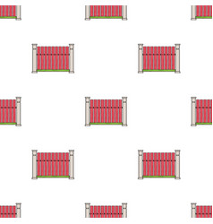 a wooden fence a different fence single icon in vector image