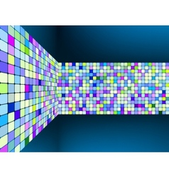 Abstract background with squares EPS 8 vector image vector image