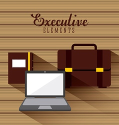 business elements design vector image