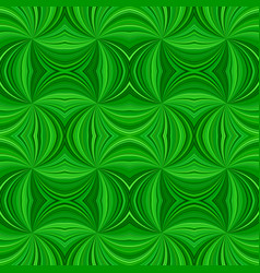 green hypnotic abstract seamless striped swirl vector image