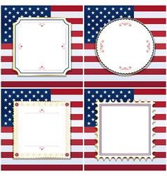 Usa frames vector