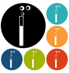 vitro icon vector image