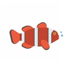Clown Fish Icon vector image