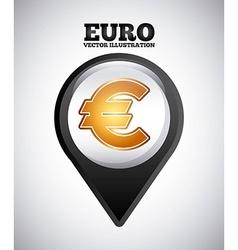 euro symbol vector image