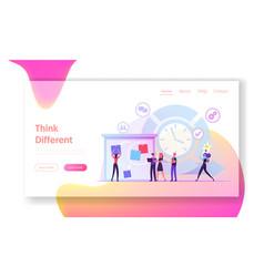 agile development software methodology website vector image