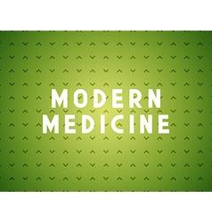 Medicine modern concept vector
