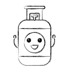 propane gas tank icon vector image