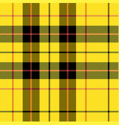 4577 - scottish cage tartan pattern vector image
