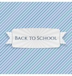 Back to School special Emblem vector