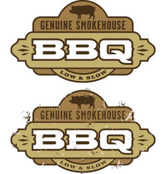 Barbecue Design Element vector image