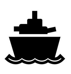 Battleship eps vector