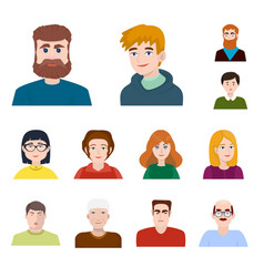 design people and avatar symbol vector image