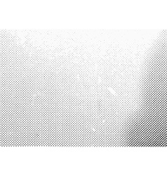 grunge monochrome halftone dots texture vector image