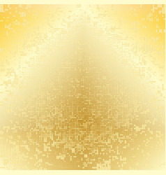 yellow gold dotted background vector image