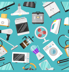 electronic household appliances kitchen vector image