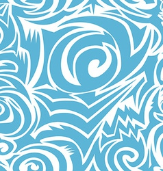 Seamless tribal background vector image