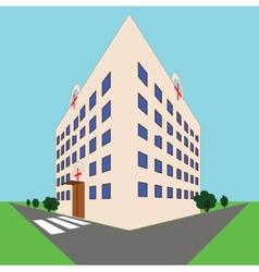 medical hospital vector image