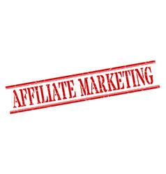 Affiliate marketing stamp affiliate marketing vector