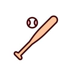 Baseball icon softball icon vector