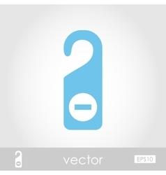 Do Not Disturb icon vector