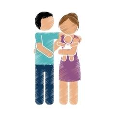 Family members design vector